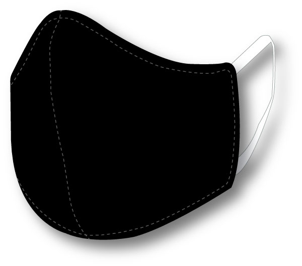 Top Quality Face Mask (Black)