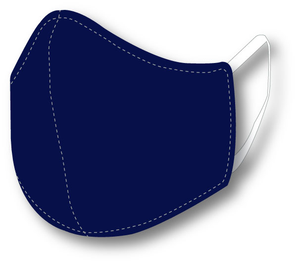 Top Quality Face Mask (Navy Blue)