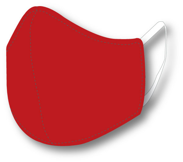 Top Quality Face Mask (Red)