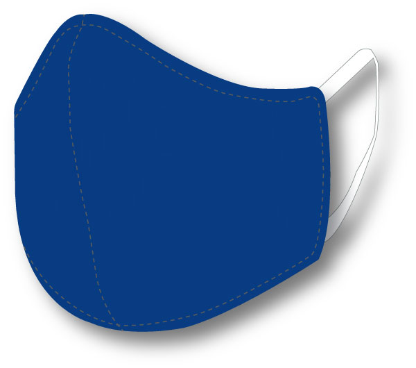 Top Quality Face Mask (Royal Blue)