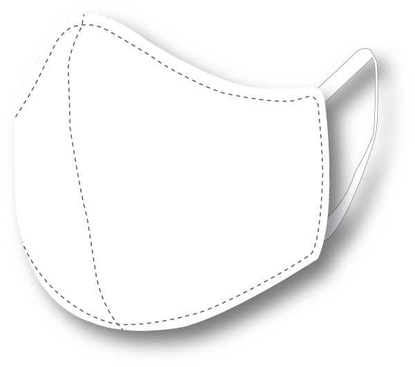 Top Quality Face Mask (White)